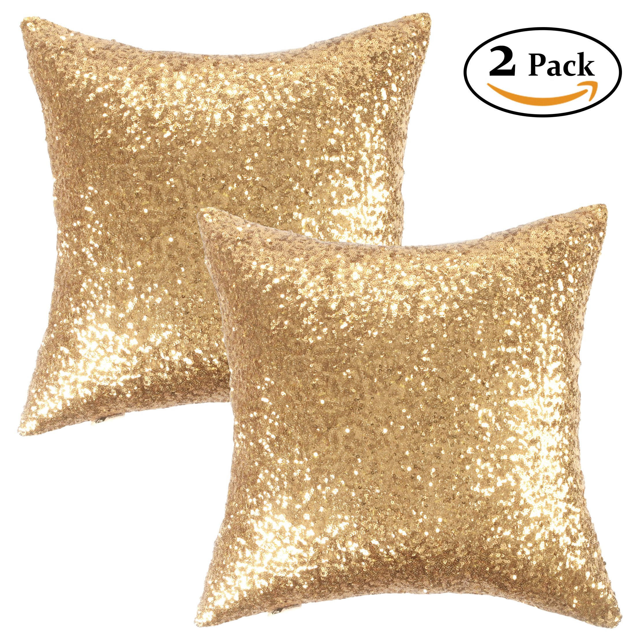 decorative pillows gold rectangle contemporary tailored p delta sequin pillow bronze pleated