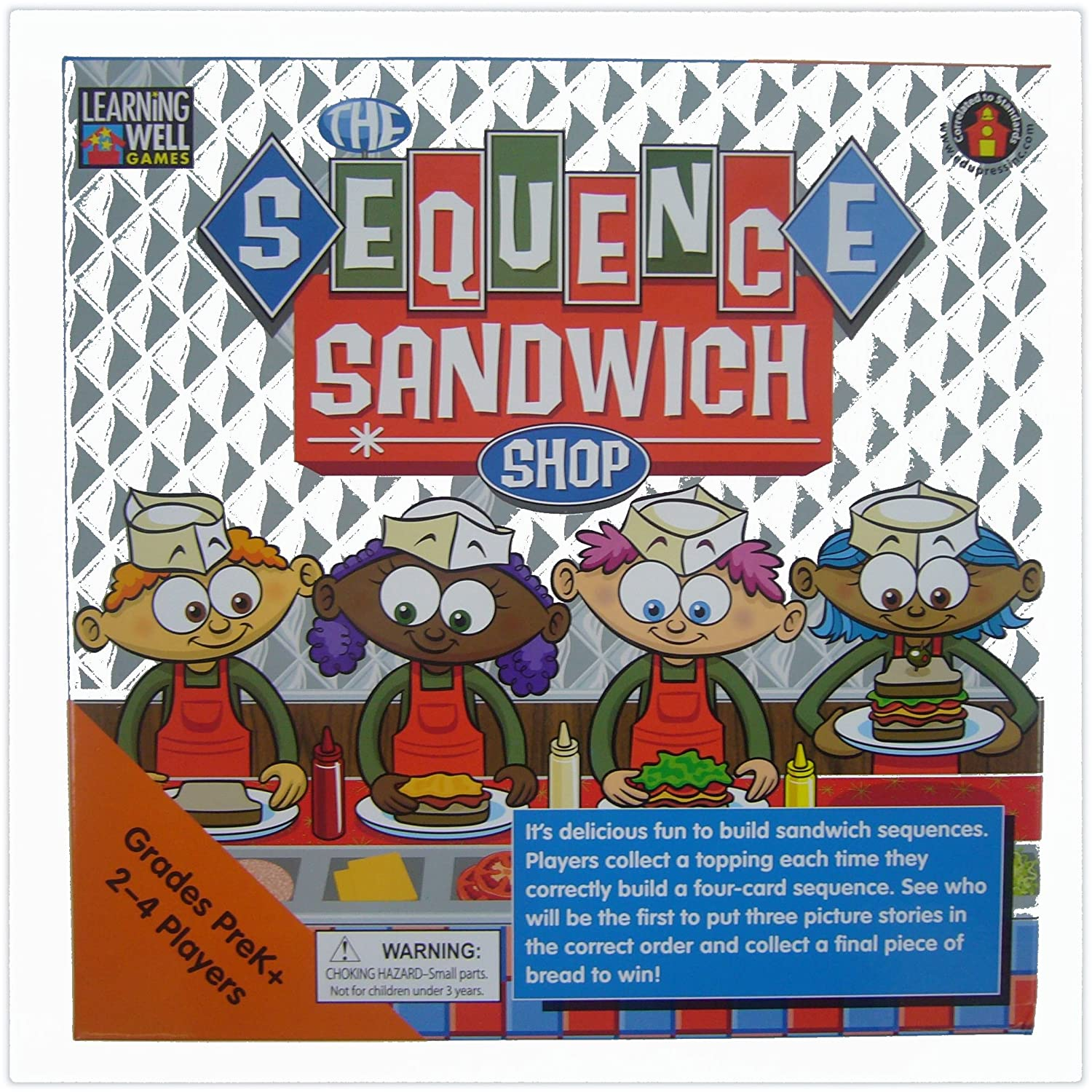 The Sequence Sandwich Shop (Learning Well Games) by LEARNING WELL ...
