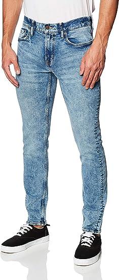 Old Navy Jeans Para Hombre Pantalon De Mezclilla Corte Slim Fit Con Detalles Desgastados Modelo 392610 Talla 31x32 Azul Amazon Com Mx Ropa Zapatos Y Accesorios