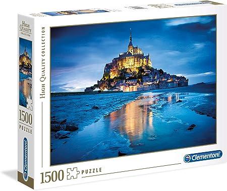 Clementoni - Puzzle 1500 Piezas Le Mont Saint-Michel (31994 ...