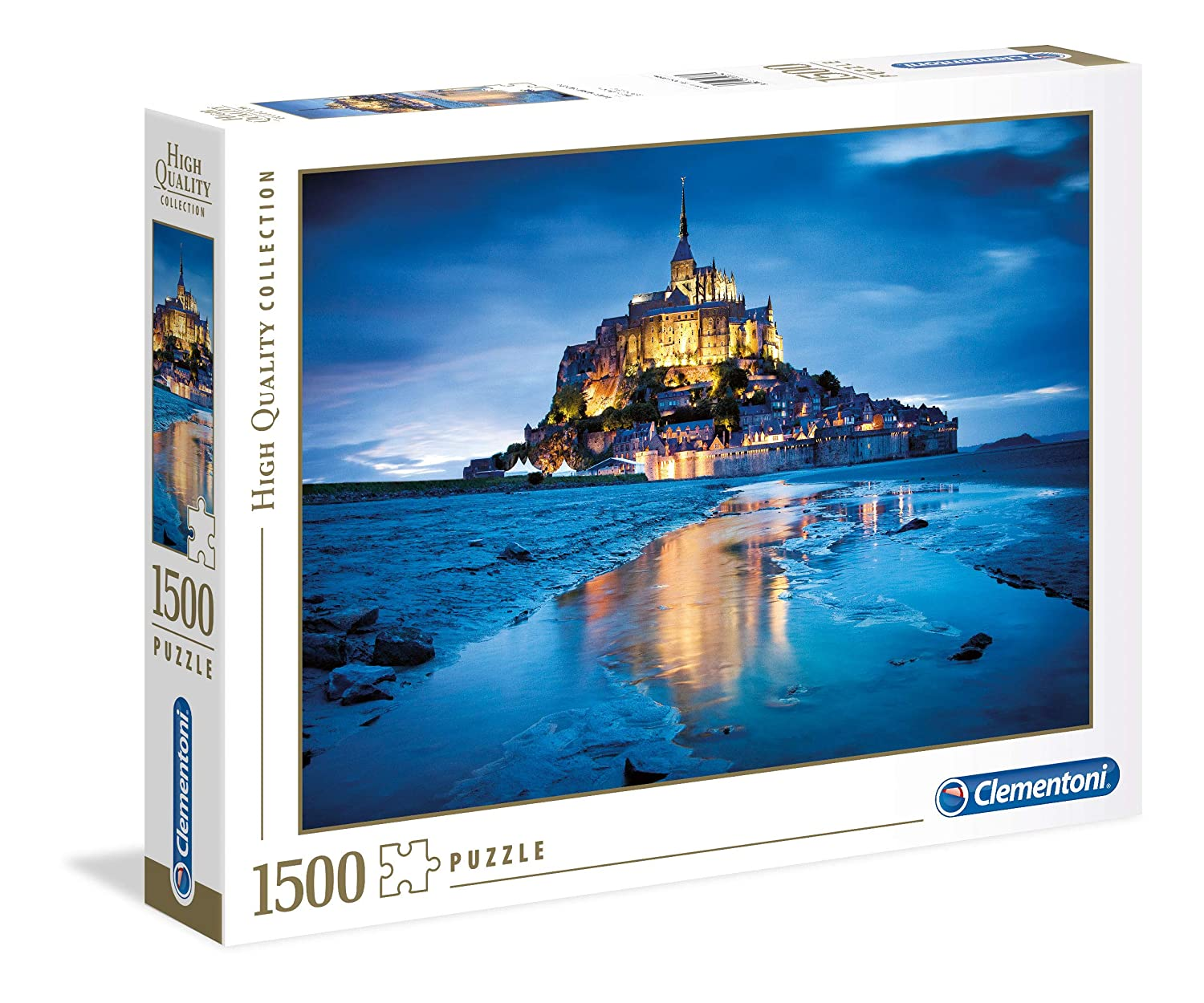 CleHommestoni - 31955 - Puzzle Collection High Quality 1500 pièces - Hiver