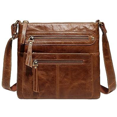 Jair Brown Crossbody Bags Designer Purse Leather Messenger Bag for Men  Travel 65bffbb86de53