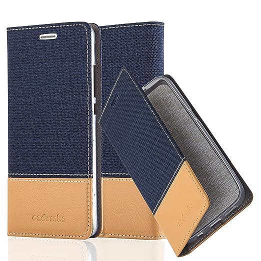 31 opinioni per Cadorabo- Custodia Book Style per Huawei P8 LITE Design Tessuto- Similpelle con