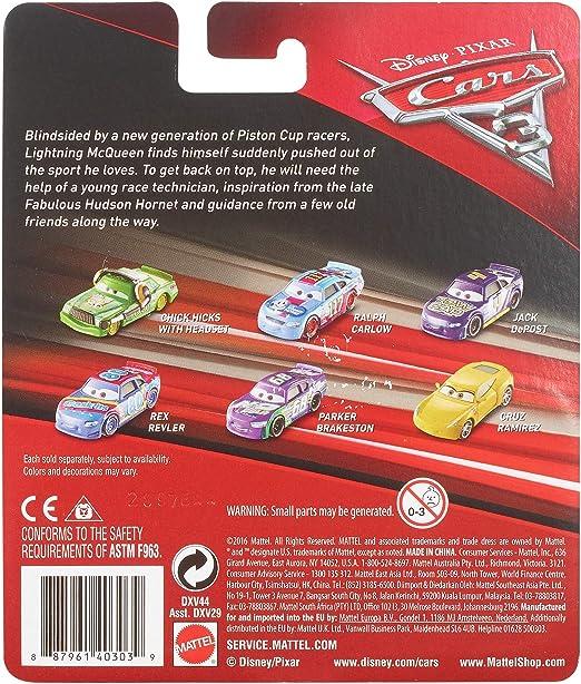 Disney DXV44 Pixar Mod/èle r/éduit Voiture Cars/3 Dud Throttleman moul/é sous Pression
