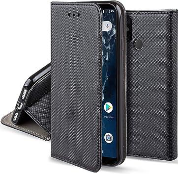 Moozy Funda para Xiaomi Mi A2, Mi 6X, Negra: Amazon.es: Electrónica
