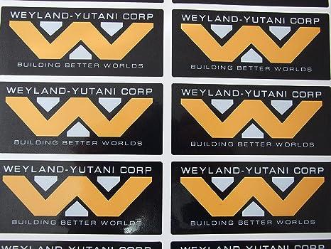 Weyland Yutani Corporation Vinyl Selbsthaftend Motiv Alien Aliens 3 2 Auto