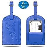 Etichetta da appendere al bagaglio Blu