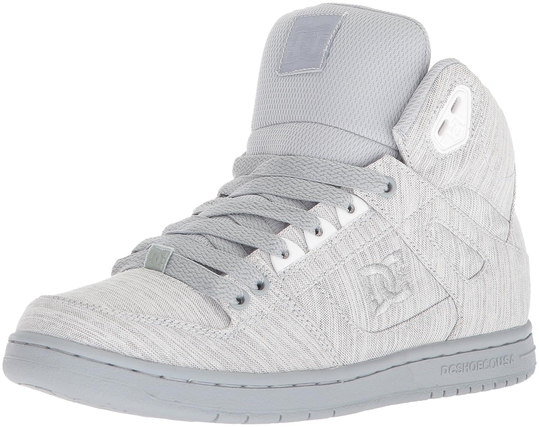DC Women's Pure High-Top TX SE Skate Shoe B0731YK1HS 5 B(M) US|Grey/Grey/Grey