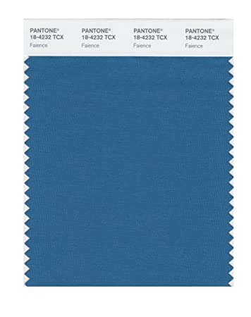 pantone smart 18 4232x color swatch card faience - Faience Colore