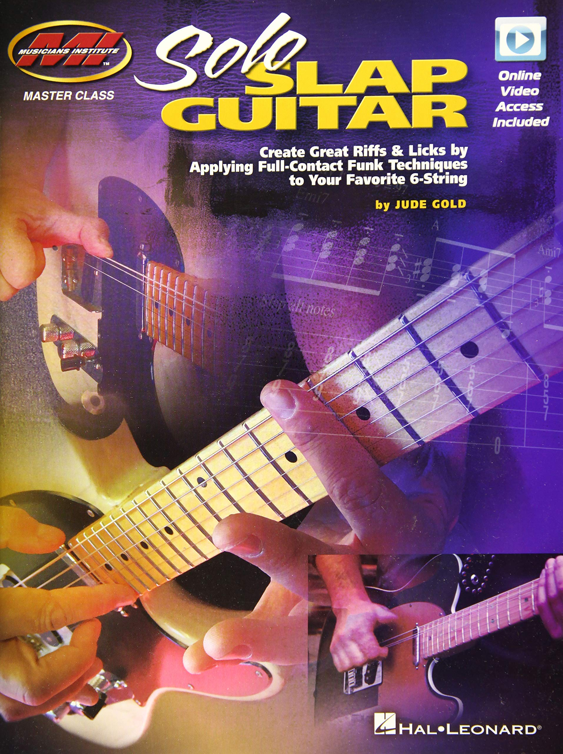 Solo Slap Guitar: Create Great Riffs & Licks by Applying Full ...
