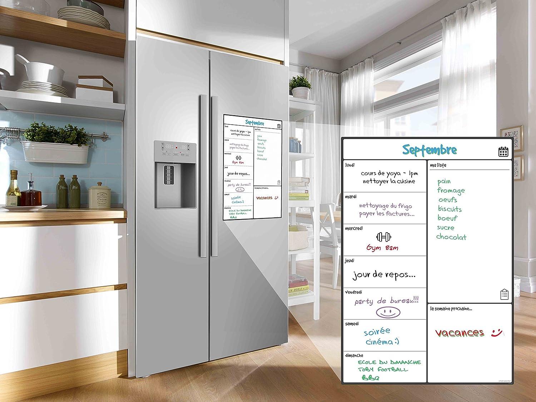 Kühlschrank Planer : Magnetisches whiteboard kühlschrank kalender von smart panda