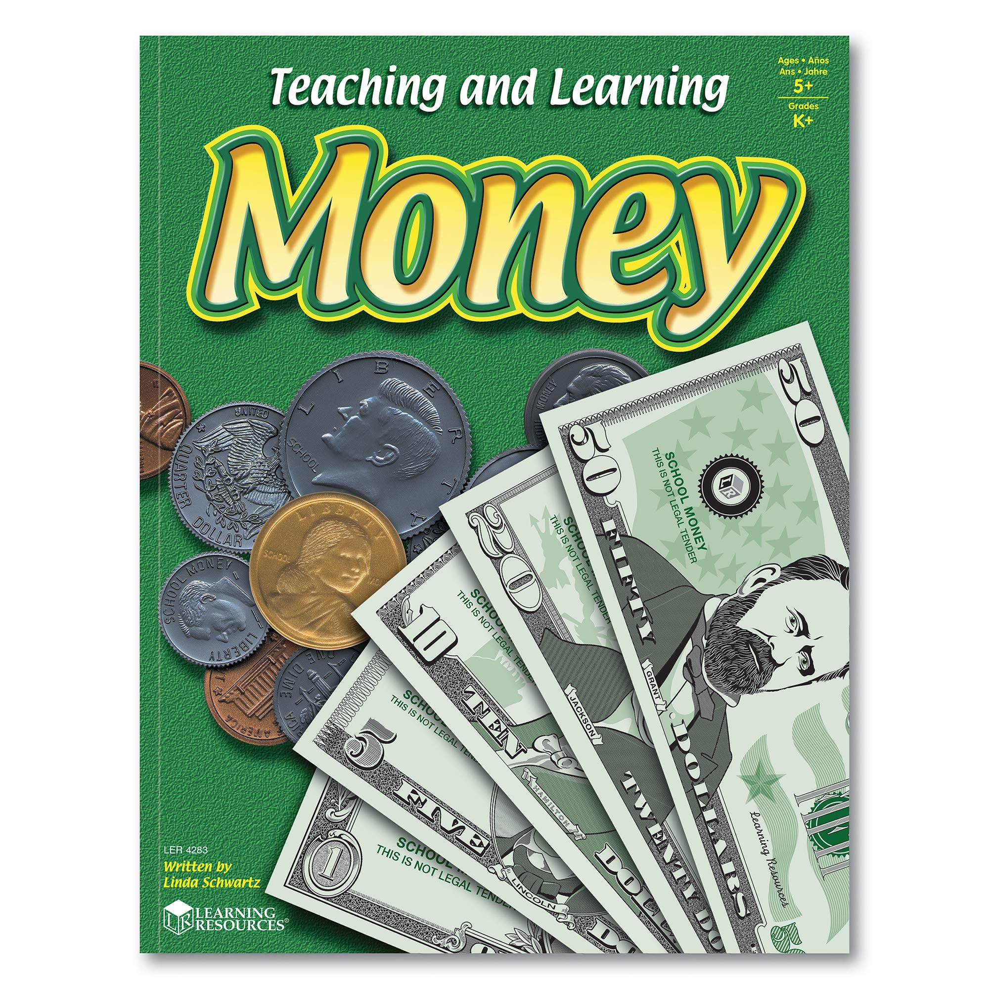 Learning Resources Teaching and Learning Money Activity Book, Counting/Sorting, Grades 4+ by Learning Resources