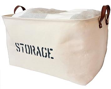OrganizerLogic Storage Baskets 22u0026quot; L X 15u0026quot; X 13u0026quot;H. Extra  Large
