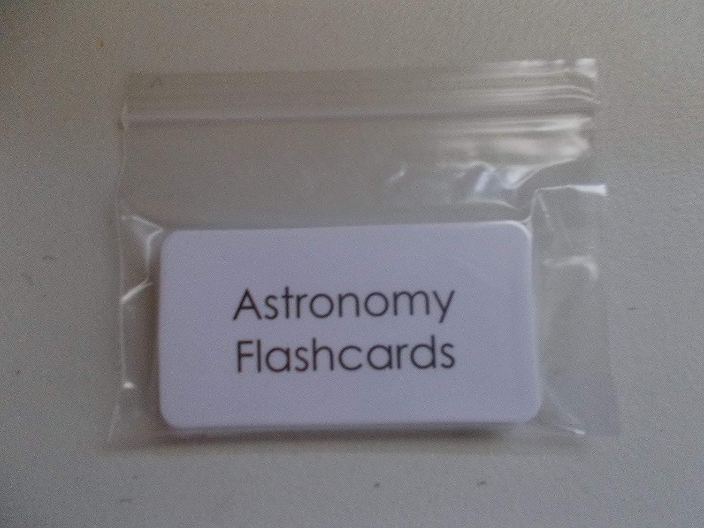 22 Laminated Astronomy Flashcards.