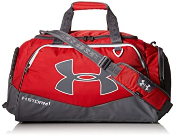 5918db2039 Under Armour UA Undeniable MD II Traditional Duffel -Red  Medium 33 x 64 x