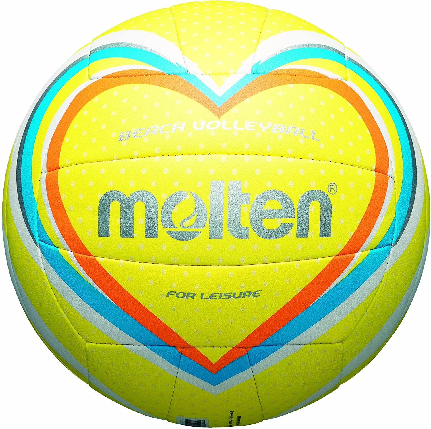 MOLTEN - Balón de Volley Playa Gelb/Blau/Orange Talla:5: Amazon.es ...