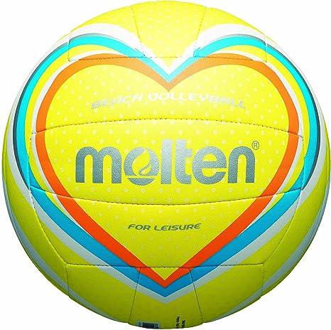 MOLTEN - Balón de Volley Playa Gelb/Blau/Orange Talla:5: Amazon.es ...