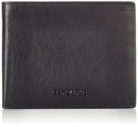 Samsonite Success SLG Billfold 5cc+v FL+2w+Coin+2c Monedero, 12 cm, Negro