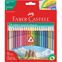 Faber-Castell Triangular Color Pencil Set of 24 Colors