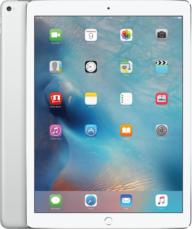 Apple iPad Pro Tablet (128GB, Wi-Fi, 9.7in) Silver (Renewed)