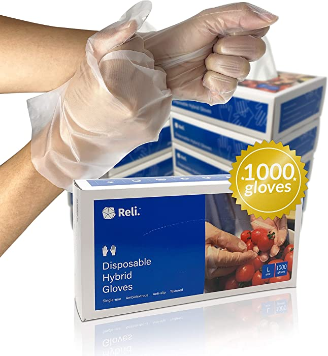 Top 9 Non Latex Food Serving Gloves Xl