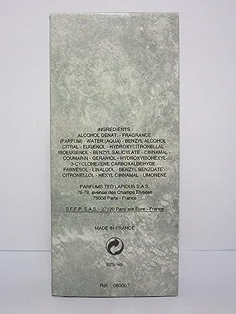 Lapidus Pour Homme, Eau De Toilette Spray, 3.33 Oz