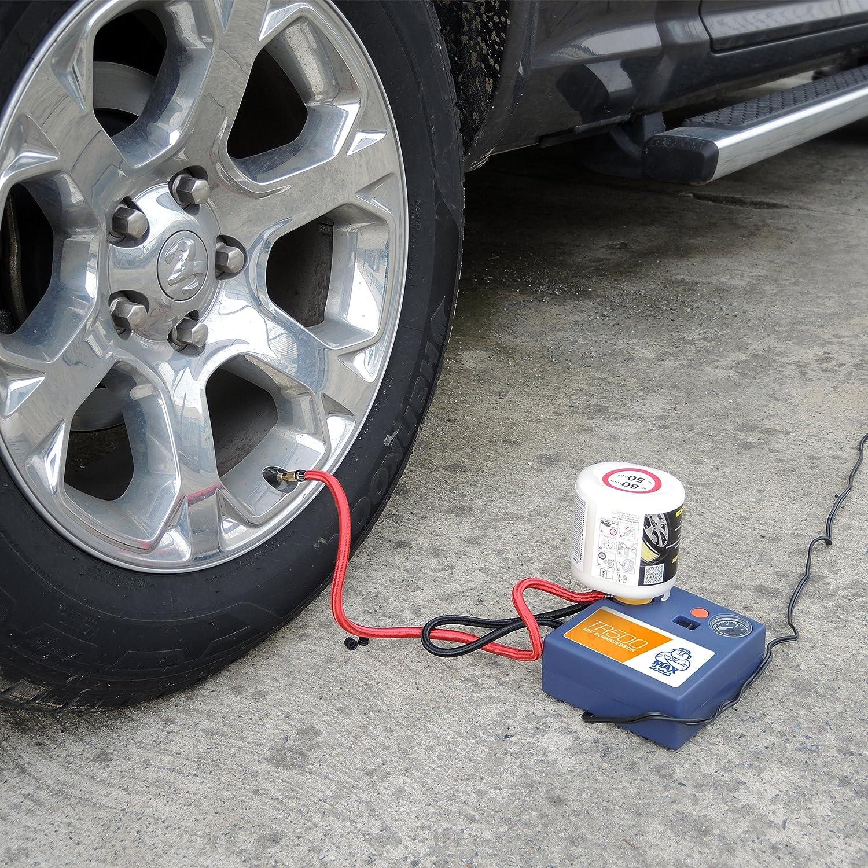 Kit de reparación de neumáticos (sin retirada de válvula) para vehículos comerciales, caravanas y autocaravanas.: Amazon.es: Coche y moto