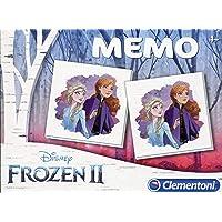 Clementoni 18051 Memo Frozen 2, meerdere kleuren