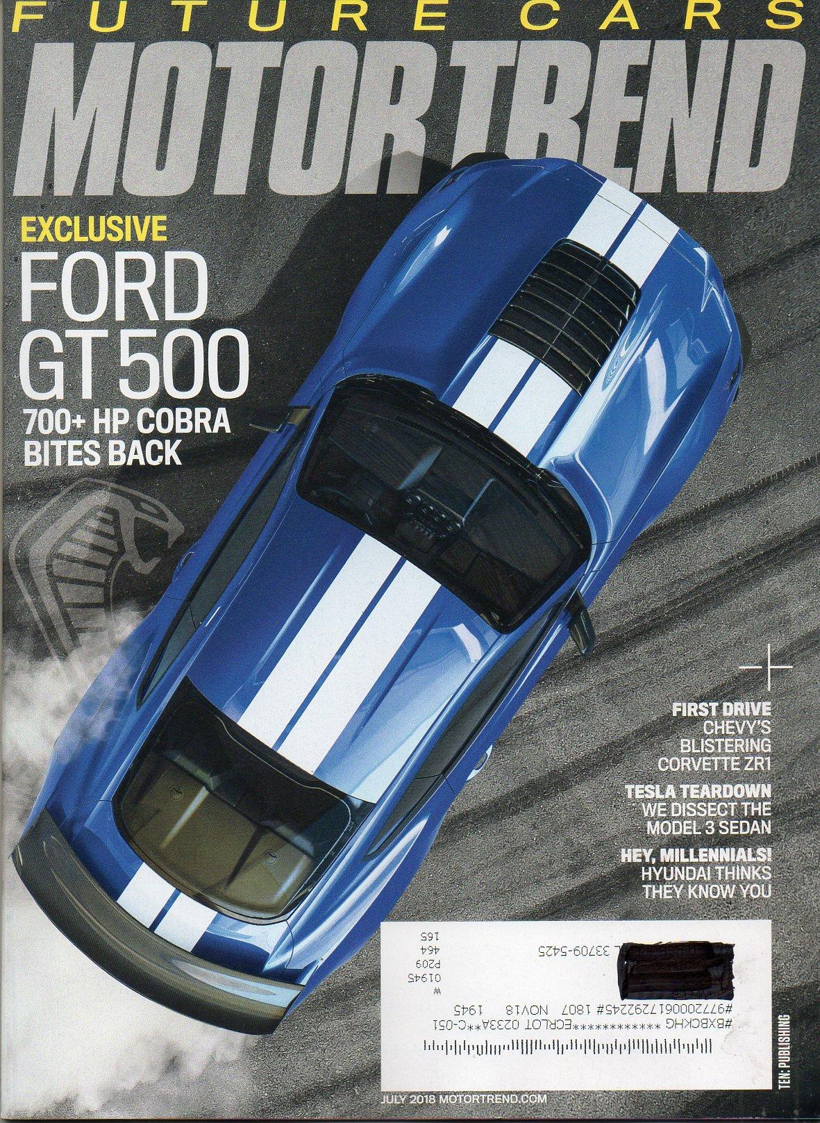 Read Online FUTURE CARS BEYOND 2018 Reinventing The Wheel ATESLA TEARDOWN: WE DISSECT THE MODEL 3 SEDAN Motor Trend First Drive CHEVY'S BLISTERING CORVETTE ZR1 John Drafcik Interview CEO Waymo PDF