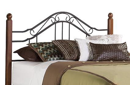 4822715bffff Hillsdale Furniture 1010HFQ Madison Headboard, Full/Queen, Textured Black