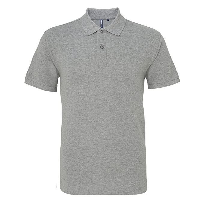 Asquith & Fox Asquith and Fox Mens Polo, Gris (Heather Grey 000 ...