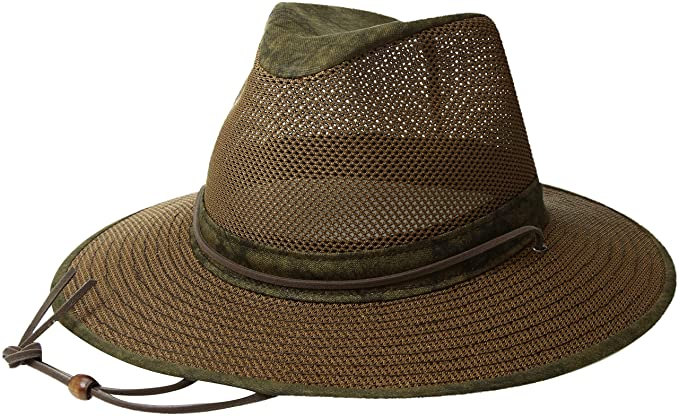 8b4edddc0f8f8 Amazon.com  Henschel Hats Aussie Breezer 5310 Cotton Mesh Hat  Clothing