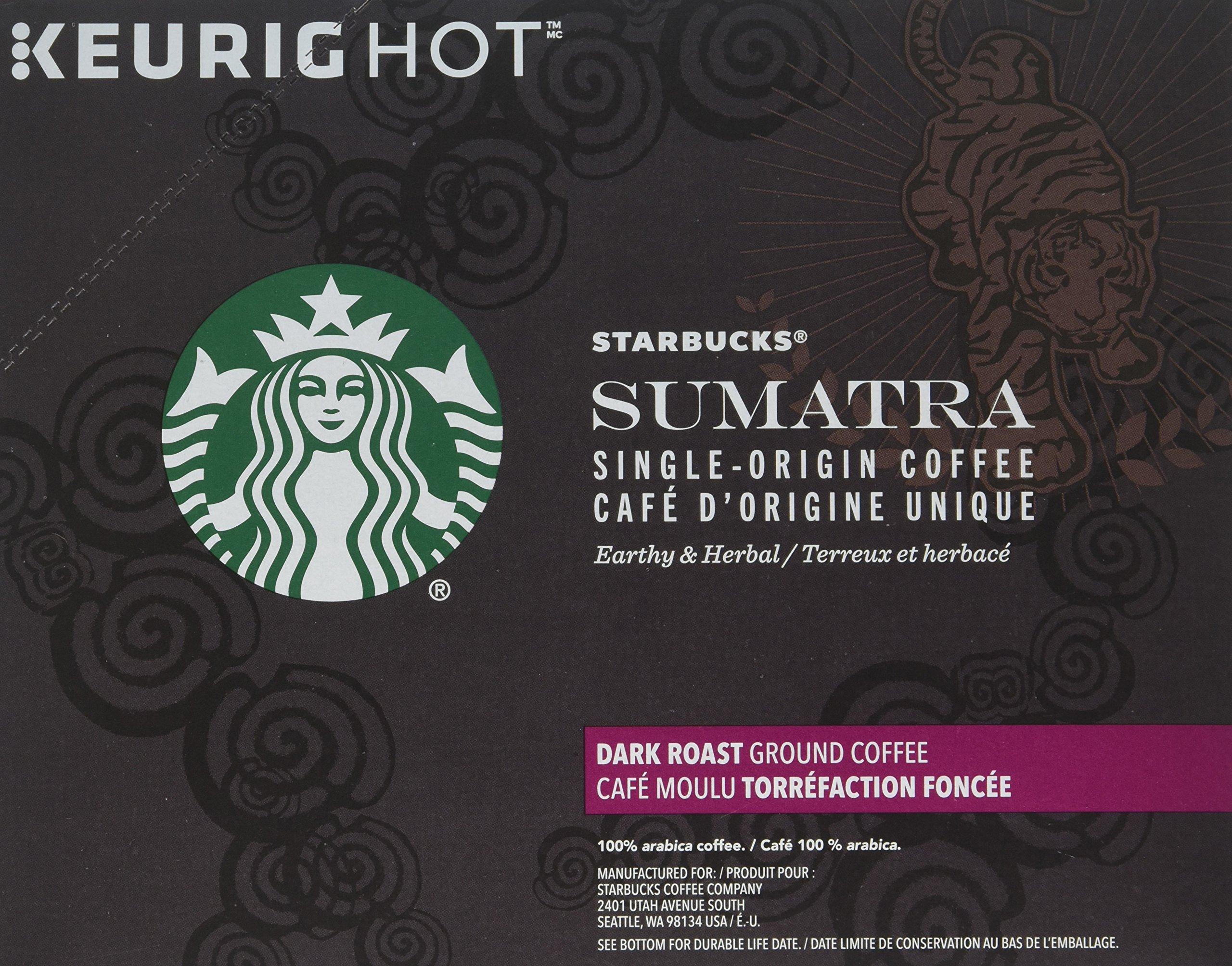 Starbucks Sumatra Coffee K-Cups 96 cups (4-pack) by Starbucks (Image #2)