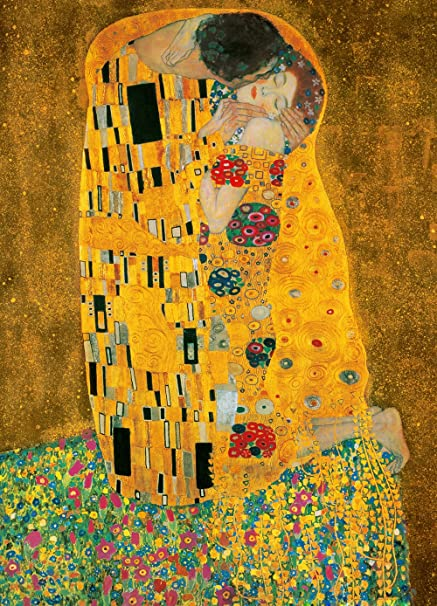 Komar DM411 Ideal Decor The Kiss 4-Panel Wall Mural - - Amazon.com