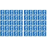 50 x 2nd Class Stamps Royal Mail Post Office