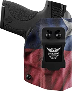 product image for We The People Holsters - Texas Flag - Inside Waistband Concealed Carry - IWB Kydex Holster - Adjustable Ride/Cant/Retention