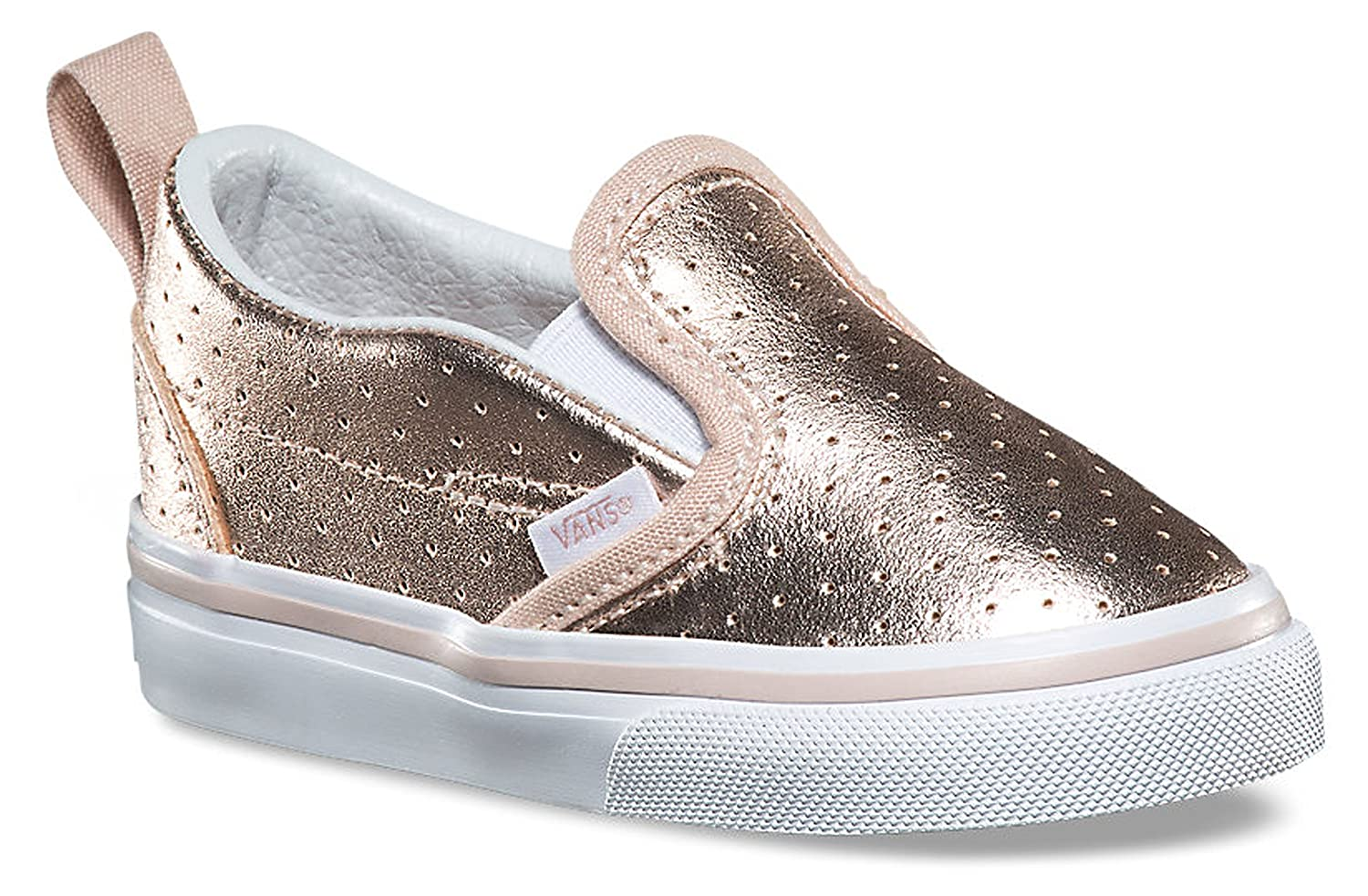 da5f1041dd5c Vans Toddler Slip-On V (Perf Leather) Rose Gold VN0A3488OR0 Toddler 6.5:  Amazon.ca: Shoes & Handbags