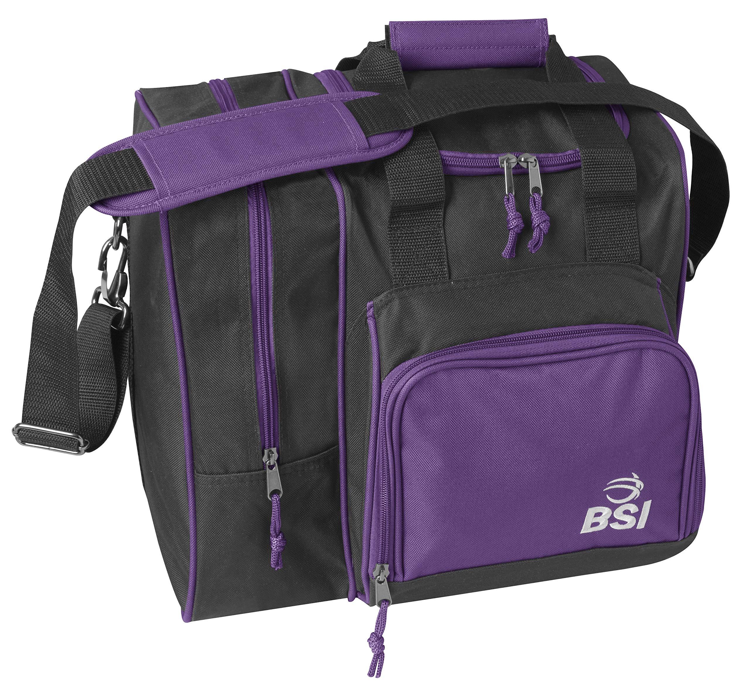 BSI 422 Bowling Bags, Black/Purple