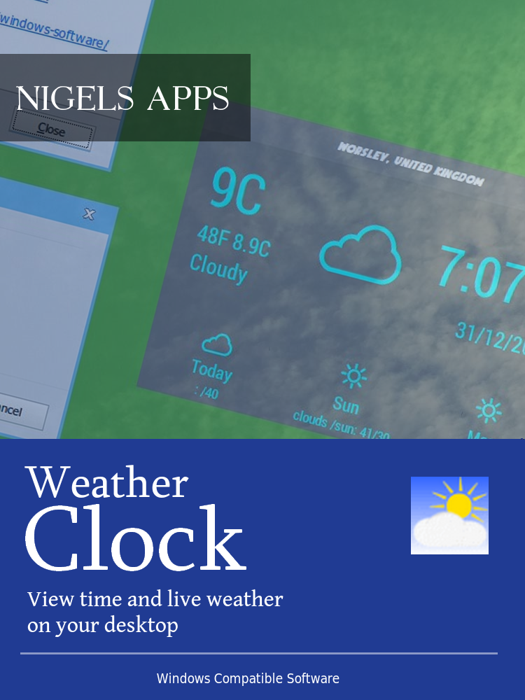 Amazon com: Weather Clock [Download]: Software