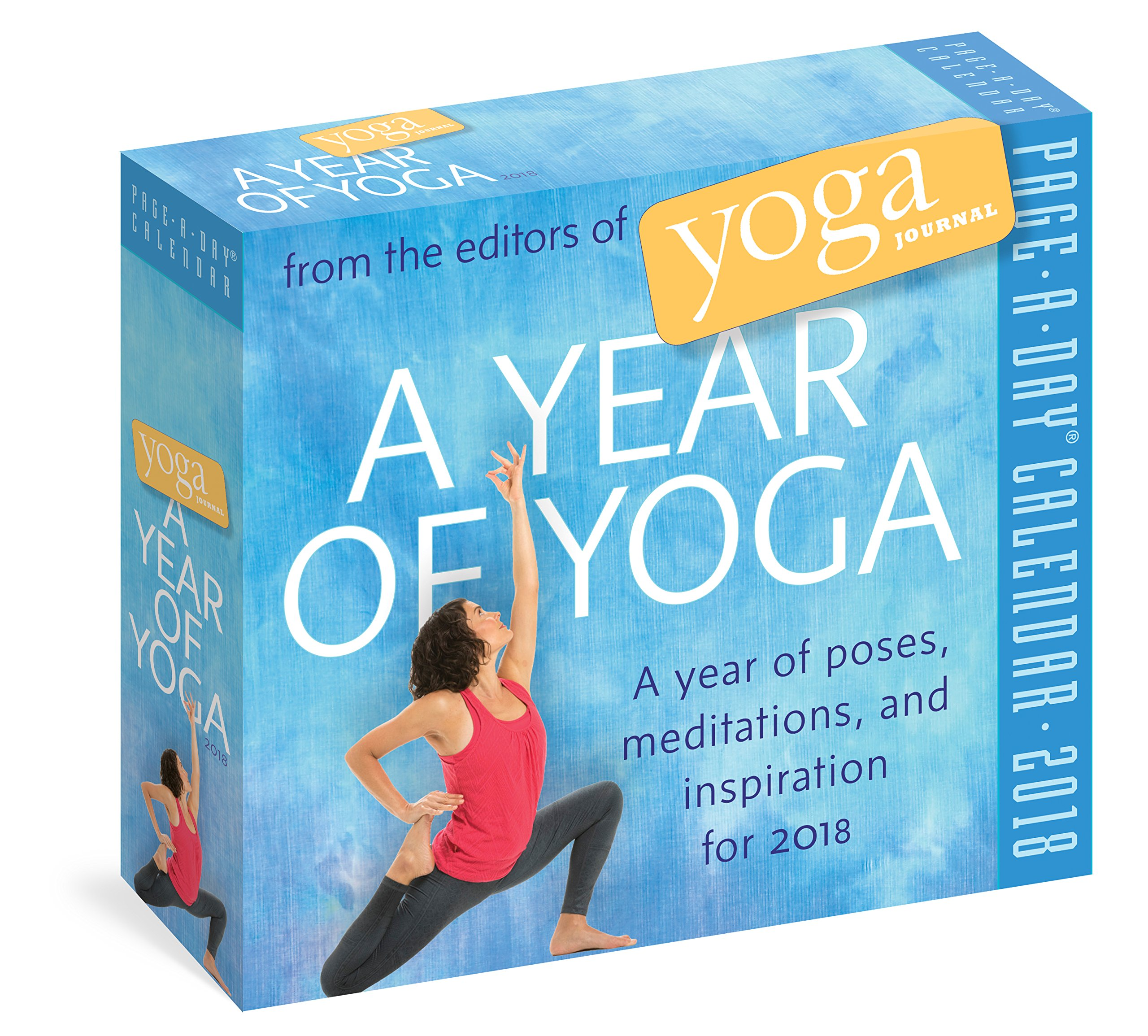 A Year of Yoga Page-A-Day Calendar 2018: Amazon.es: Editors ...