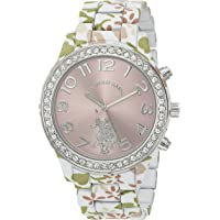 U.S. Polo Assn. Women's Quartz Metal and Alloy Watch, Color:Two Tone (Model: USC40105)