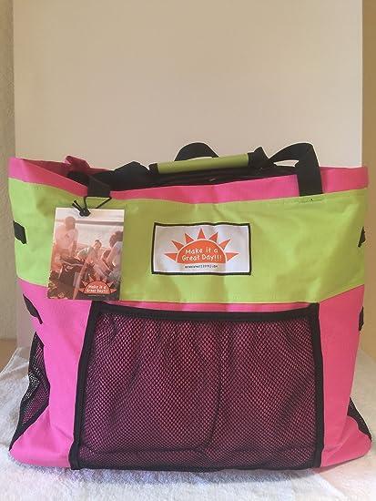 Amazon Com Make It A Great Day Original Backpack Beach Bag Sports