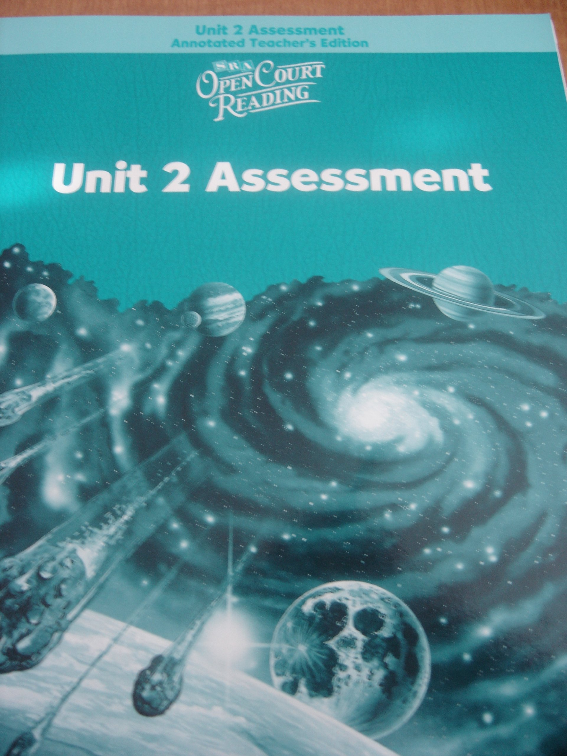 Open Court Reading: Unit 2 Assessment, Annotated Teacher's Edition, Level 5 pdf