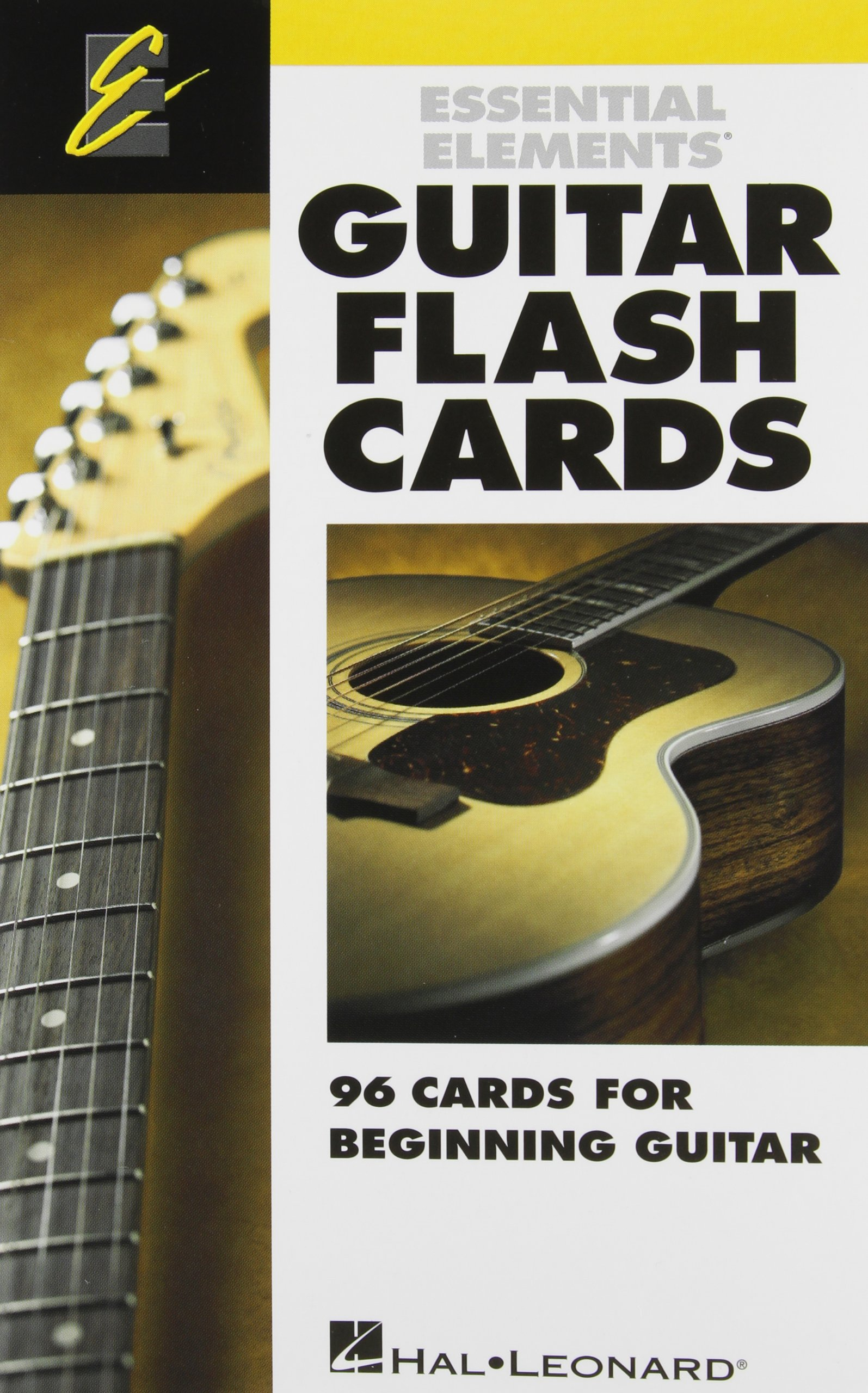 Essential Elements Guitar Flash Cards 96 Cards For Beginning