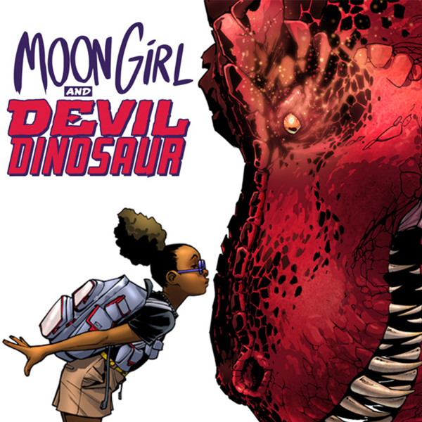 Book cover from Moon Girl and Devil Dinosaur (2015-) (Issues) (36 Book Series) by Amy Reeder