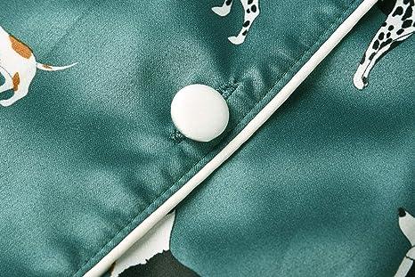 Matt Viggo - Pijama - para Mujer Verde Verde 44 ES/M: Amazon.es ...