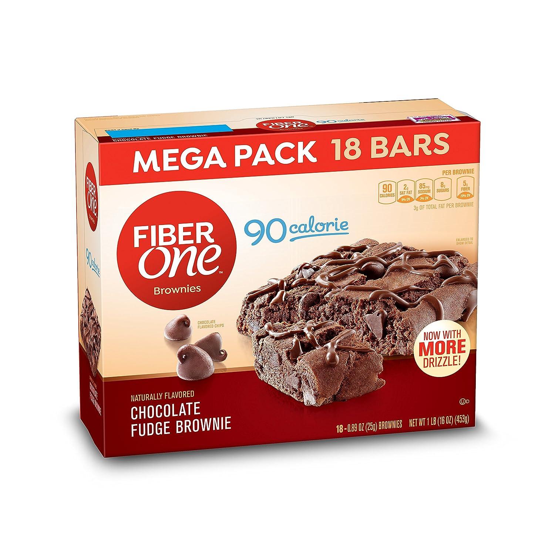 Amazon Fiber e Brownies 90 Calorie Bar Chocolate Fudge