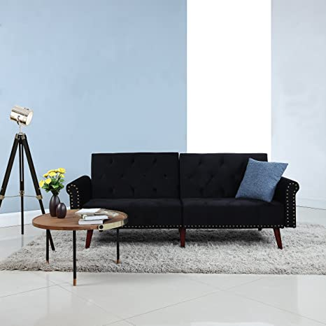 Remarkable Amazon Com Divano Roma Furniture Modern Tufted Velvet Squirreltailoven Fun Painted Chair Ideas Images Squirreltailovenorg