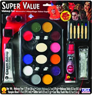 Rubie's Costume Makeup Factory For Children With Glitter, Fake Blood