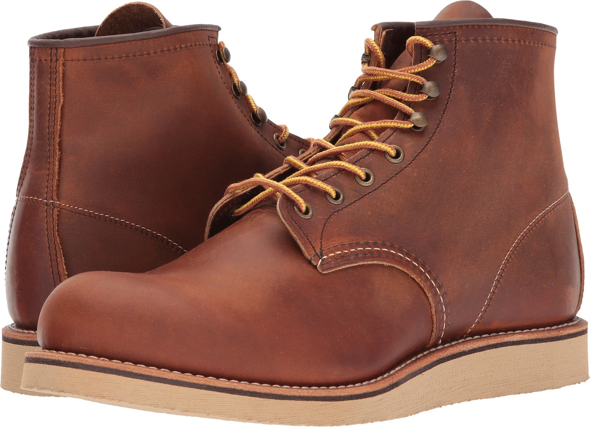 Red Wing Rover Boots 12 D(M) US Copper Rough & Tough